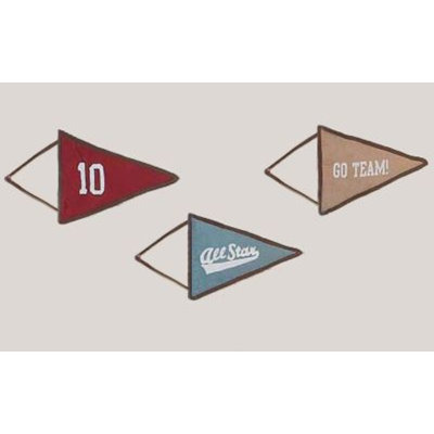 Sweet Jojo Designs All Star Sports Collection Wall Hangings