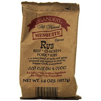 Lysander's BBQ Rub Mesquite, 3.8-Ounce (Pack of 6)