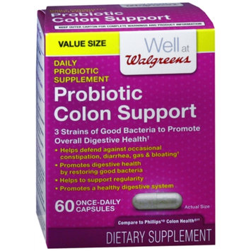 walgreens probiotic colon support capsules reviews 2019