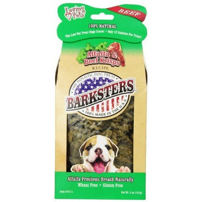 Loving Pets Barksters Alfalfa and Beef Krisps, Dog Treat, 5-Ounce