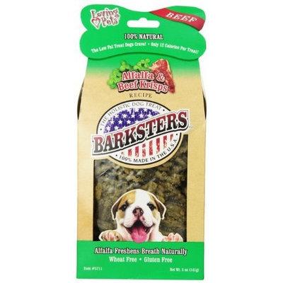 Loving Pets Barksters Alfalfa and Beef Krisps, Dog Treat, 5-Ounce