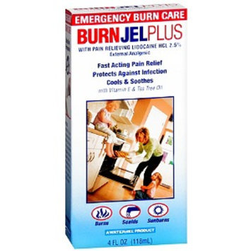 Water-Jel Burn Jel Plus External Analgesic Gel