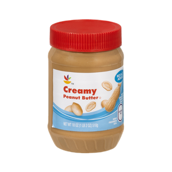 Ahold Peanut Butter Creamy No Salt Added