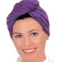 Roger Enterprises Beautiful Twisty Towel 2-pack Wet Hair Towel to Dry Hair Easily