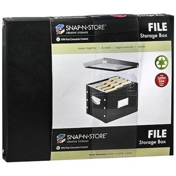 Snap-N-Store File Storage Box