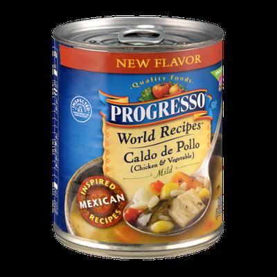 Progresso™ World Recipes Caldo de Pollo (Chicken & Vegetable) Mild Soup