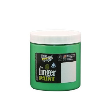 Handy Art® by Rock Paint Handy Art by Rock Paint 246-158 Washable Finger Paint, 1, Fluorescent Green, 8-Ounce