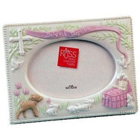 Russ Berrie US Gift, Inc. Baby's Baptism pink frame by Russ Berrie - 4x6