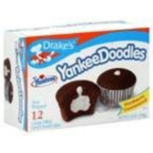 Drakes Hostess Drake's Cakes Yankee Doodles 12 Ct 2 Boxes