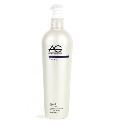 AG Hair Cosmetics Recoil Curl Activating Shampoo for Unisex, 8 Ounce
