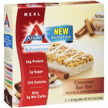 Atkins Cinnamon Bun Almond Bars