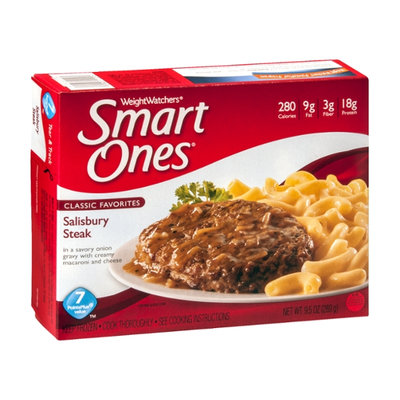 Weight Watchers Smart Ones Classic Favorites Salisbury Steak