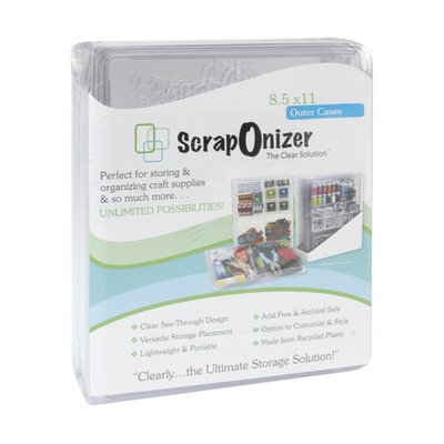 Nostalgia ScrapOnizer 4-pc. Outer Cases - 8.5x11