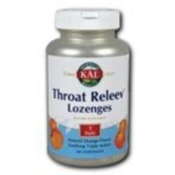 Throat Releev Orange by Kal 60 Lozenge