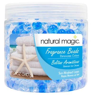 Natural Magic 4114 12 oz. Fragrance Gel Beads - Sun Washed Linen