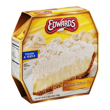 Edwards Banana Creme Pie in a Cookie Crust