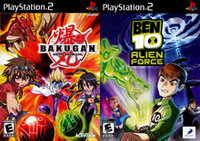 Bakugan and Ben 10 Alien Force 2Pack