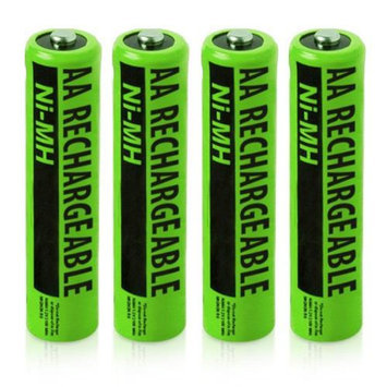 VTech Replacement Battery (4-Pack) NiMh AA Batteries 4-Pack for Vtech Phones