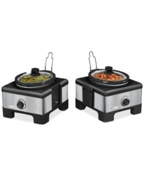 Bella LINX Serve & Store Double Slow Cooker