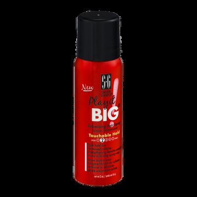 Salon Grafix Play It BIG Volumizing Hair Spray Touchable Hold