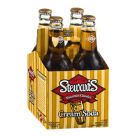 Stewart's Fountain Classics Cream Soda - 6 CT