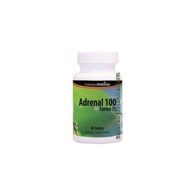 Professional Botanicals | Naturally Botanicals | Adrenal 100 Cortex 75 - 90 Tabs