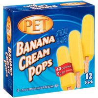 PET Banana Cream Pops, 1.75 fl oz, 12 count