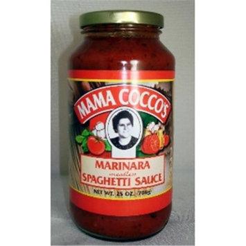 Mama Cocco's Mama Coccos BCA20749 Marinara Sauce 12 x 25 oz