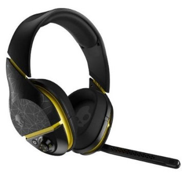 Skullcandy - Plyr 2 Universal Wireless Gaming Headset - Black/yellow