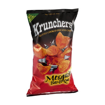 Krunchers Mesquite Bar-B-Que Kettle Cooked Potato Chips