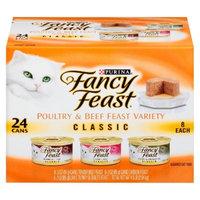 Purina Fancy Feast Fancy Feast Poultry & Beef Feast Variety Classic Wet Cat Food - 3 oz