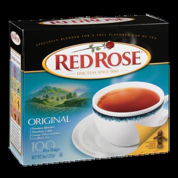 Red Rose Mountain Estate Original Black Tea Bags - 100 CT