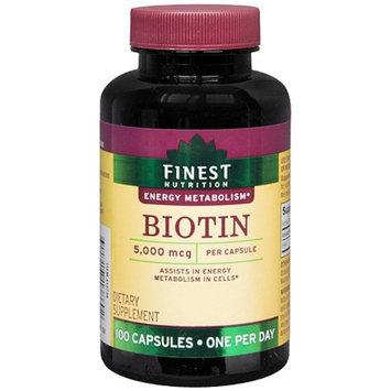 Finest Nutrition Biotin 5