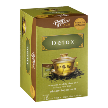Prince Of Peace Detox Dietary Supplement Tea Bags - 18 CT