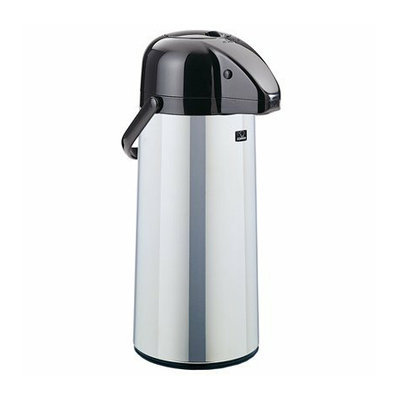 Zojirushi Polished Stainless Steel Air Pot Beverage Dispenser - 85 oz.