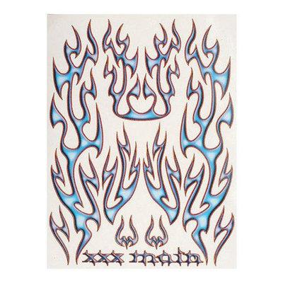 S018 Sticker Sheet Wicked Flames