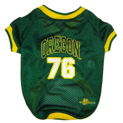 Pets First University of Oregon Duck Jersey