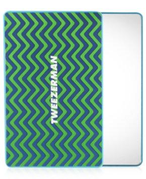 Tweezerman Unbreakable Mirror Blue/Green 3 1/2