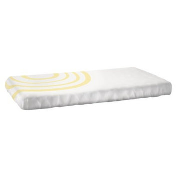 Nook Sleep Systems - Fitted Crib Sheet - Ripple Daffodil