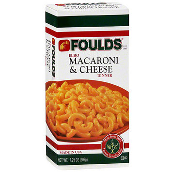 Foulds Elbow Macaroni & Cheese, 7.25 oz (Pack of 24)