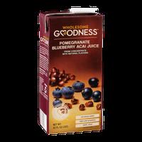 Wholesome Goodness Pomegranate Blueberry Acai Juice
