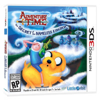 U & I Entertainment Adventure Time: The Secret Of The Nameless Kingdom - Nintendo 3ds