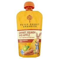Peter Rabbit Organics, Carrot, Squash and Apple Puree, 4.4-Ounce Pouches (Pack of 10)