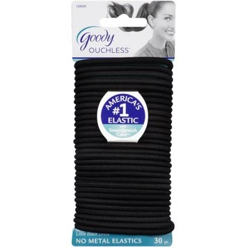 Goody Ouchless No Metal Elastics, Little Black Dress, 30 count