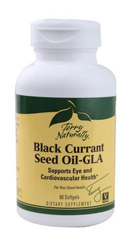 Terry Naturally Black Currant Seed Oil GLA 60 Softgels - Vegan