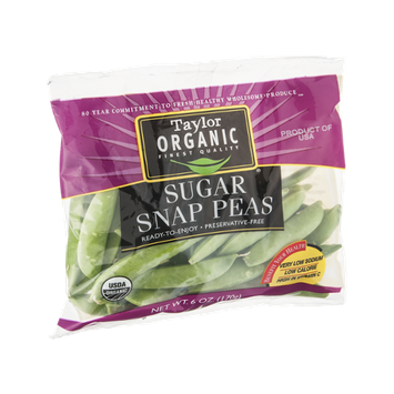 Taylor Organic Sugar Snap Peas