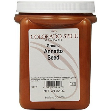 Colorado Spice Annatto Seed, Ground, 32-Ounce Jars (Pack of 2)