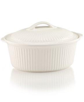 Mikasa Dinnerware, Italian Countryside Round Covered Casserole Dish