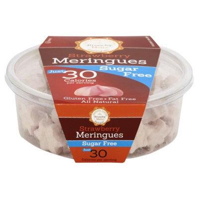Krunchy Melts 2 oz. Meringue Tub Sugar Free Strawberry Case Of 12