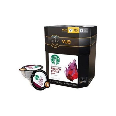 STARBUCKS® French Roast Intense & Smoky VUE® Cups